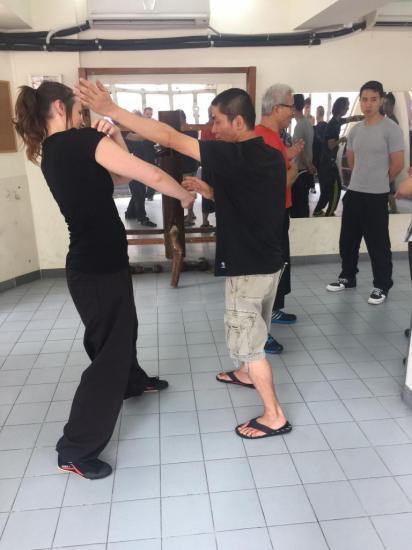 Entrainements à Ving Tsun Athletic Association