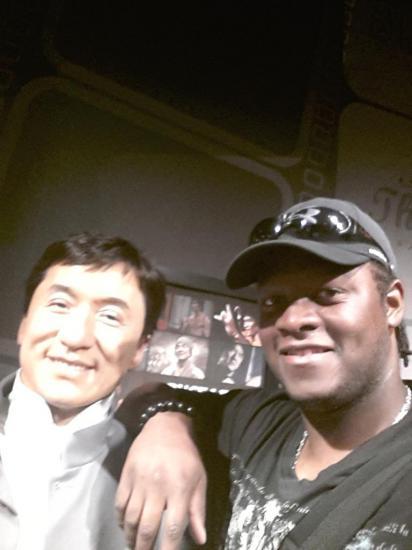 Jacky Chan et John Sydney